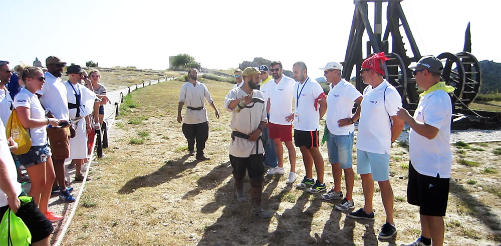 cohésion equipe baux de provence