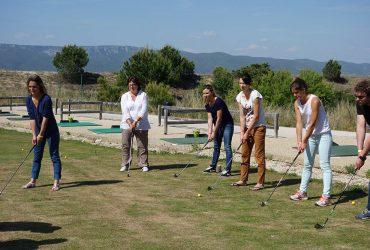 Activité séminaire golf