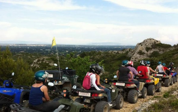 Team building Quad en Provence