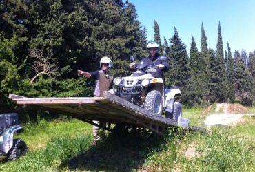 Team building Quad proche Avignon