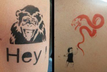 Animation soirée entreprise tatouage éphémère show