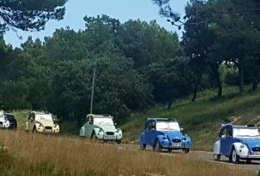Team building rallye 2cv en Provence