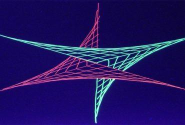 """Animation de soirée fresque collective """"String Art"""""""