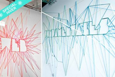"Animation de soirée fresque collective ""String Art"""