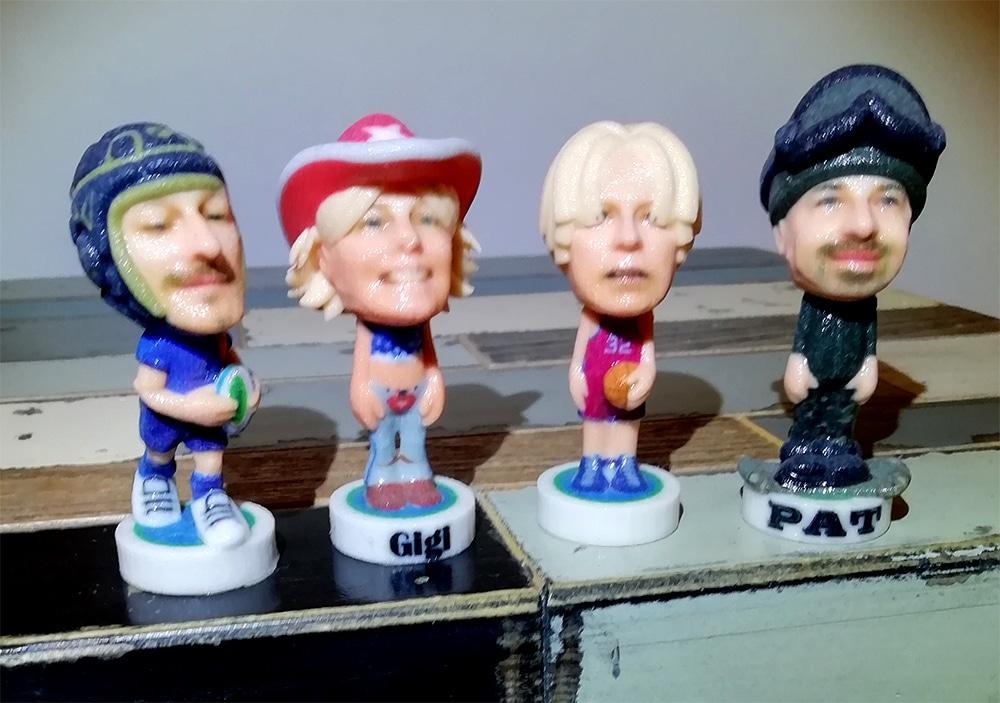 figurine miniature 3d soirée entreprise