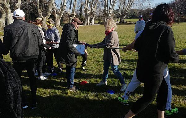 Team building Olympiades en Provence