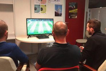 Soirée entreprise jeu vidéo geek, retro gaming