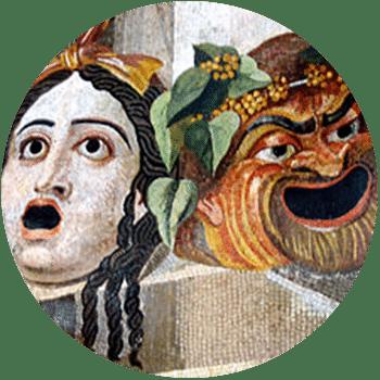 masque theatre antique orange