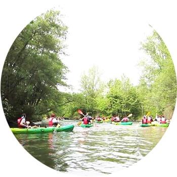 team building Kayak en Provence à l'Isle sur Sorgue