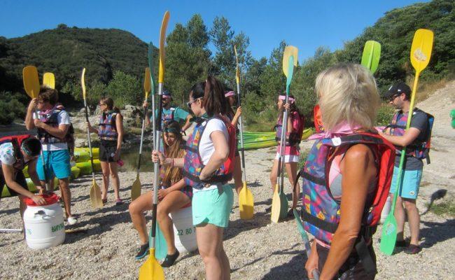 activite-seminaire-entreprise-kayak-pont-du-gard