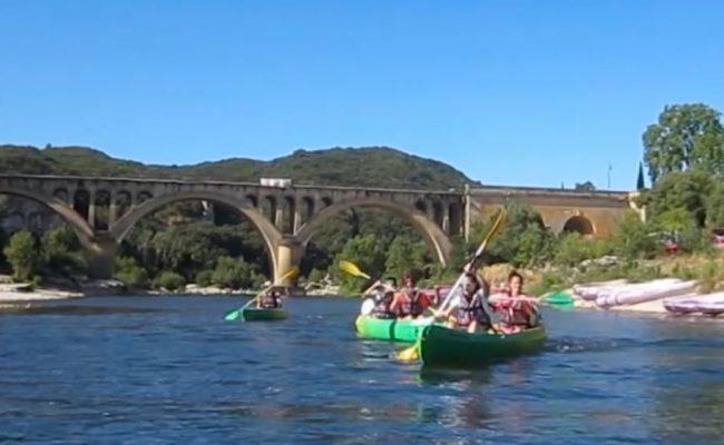 team-building-kayak-pont-du-gard